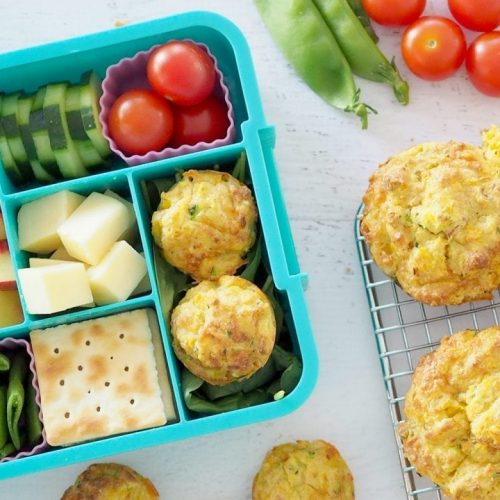 kids-lunch-box-idea-17-cheesy-bacon-and-vegetable-muffins-1170x780